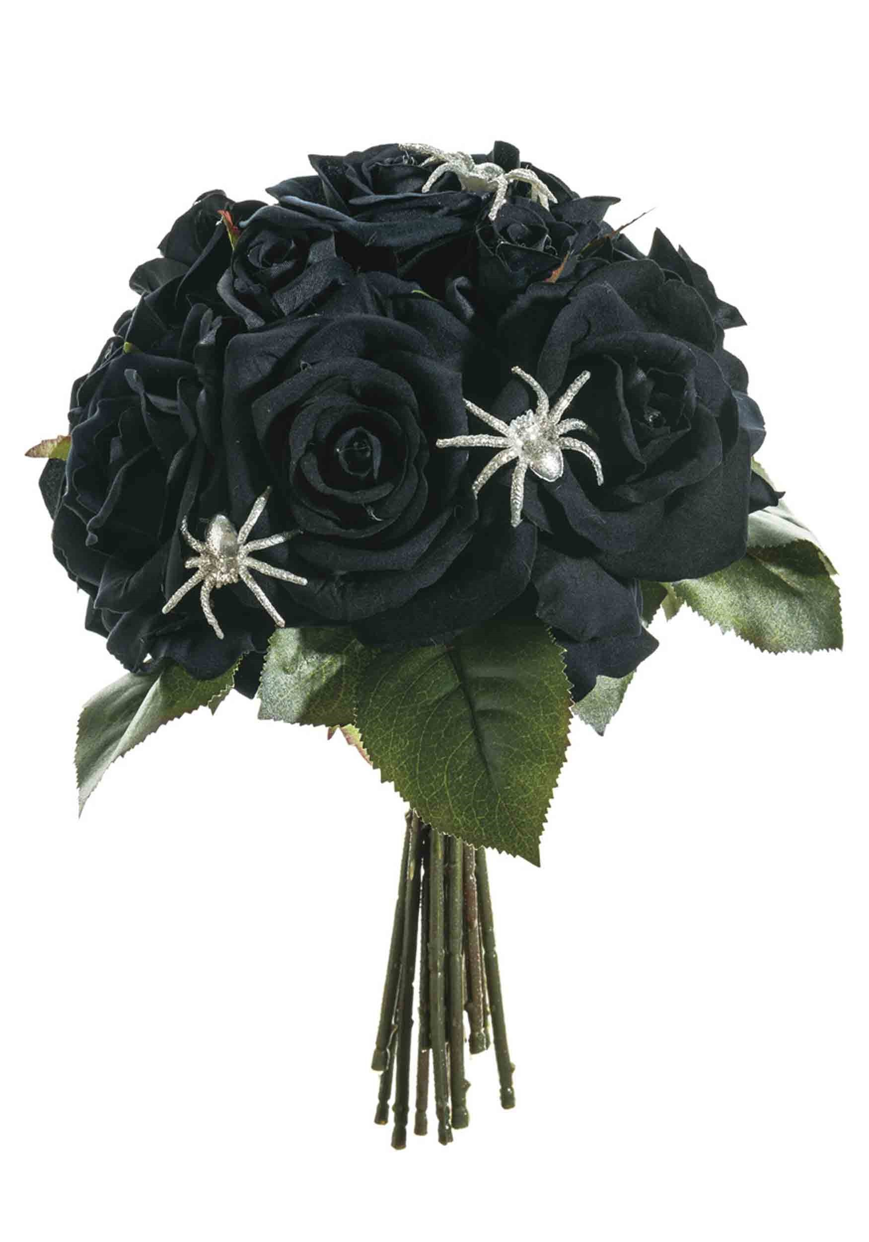 "11.5"" Velvet Rose Bouquet"