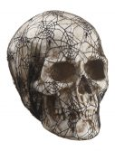14 inch Laced Spider Web Skull