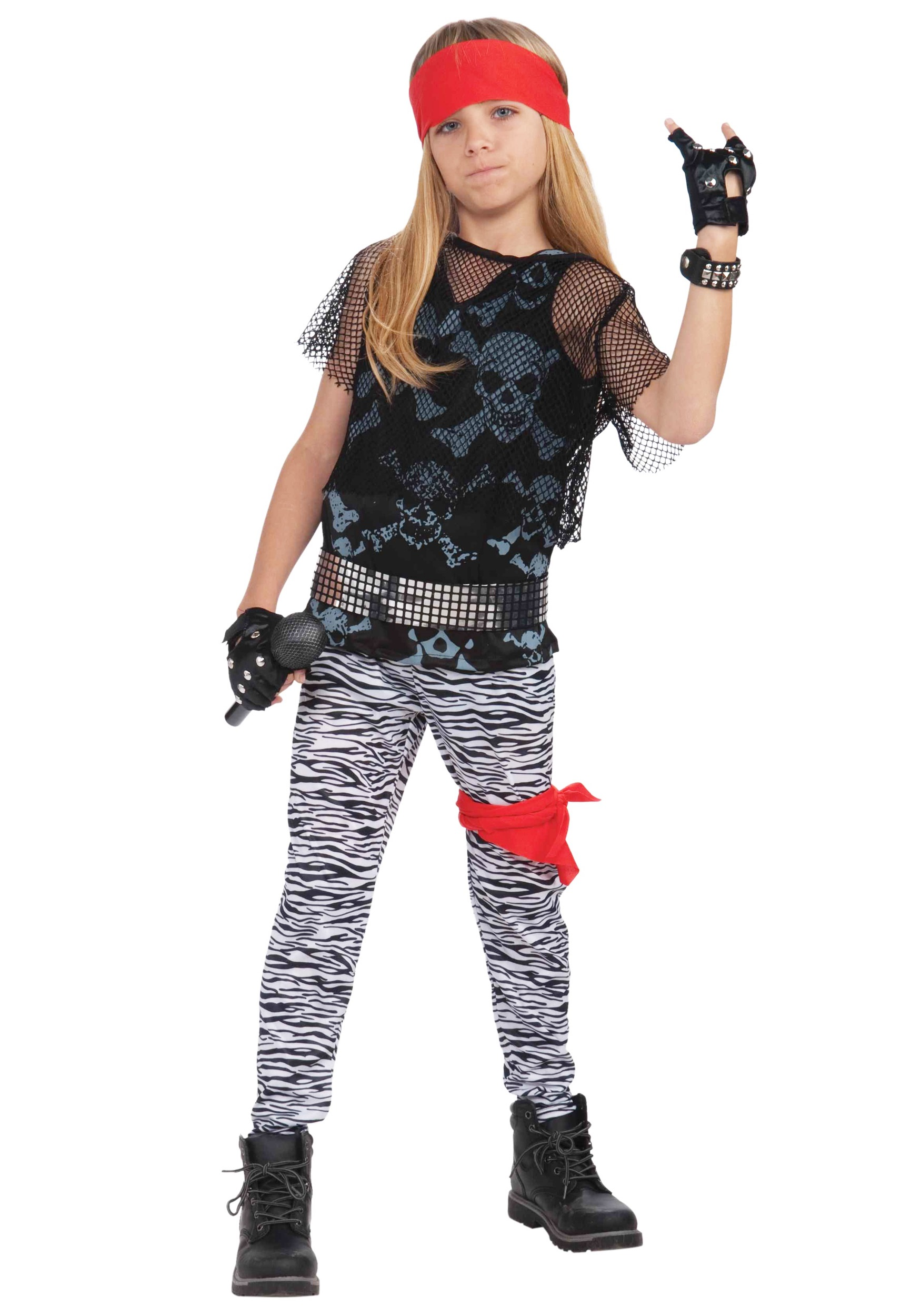 80s Rock Star Boy Costume