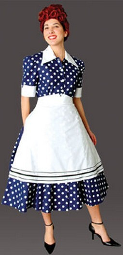 Adult 50's Housewife Costume