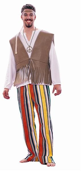 Adult 60's Love Child Costume - Male