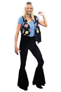Adult 70's Costume Bell Bottom Pants