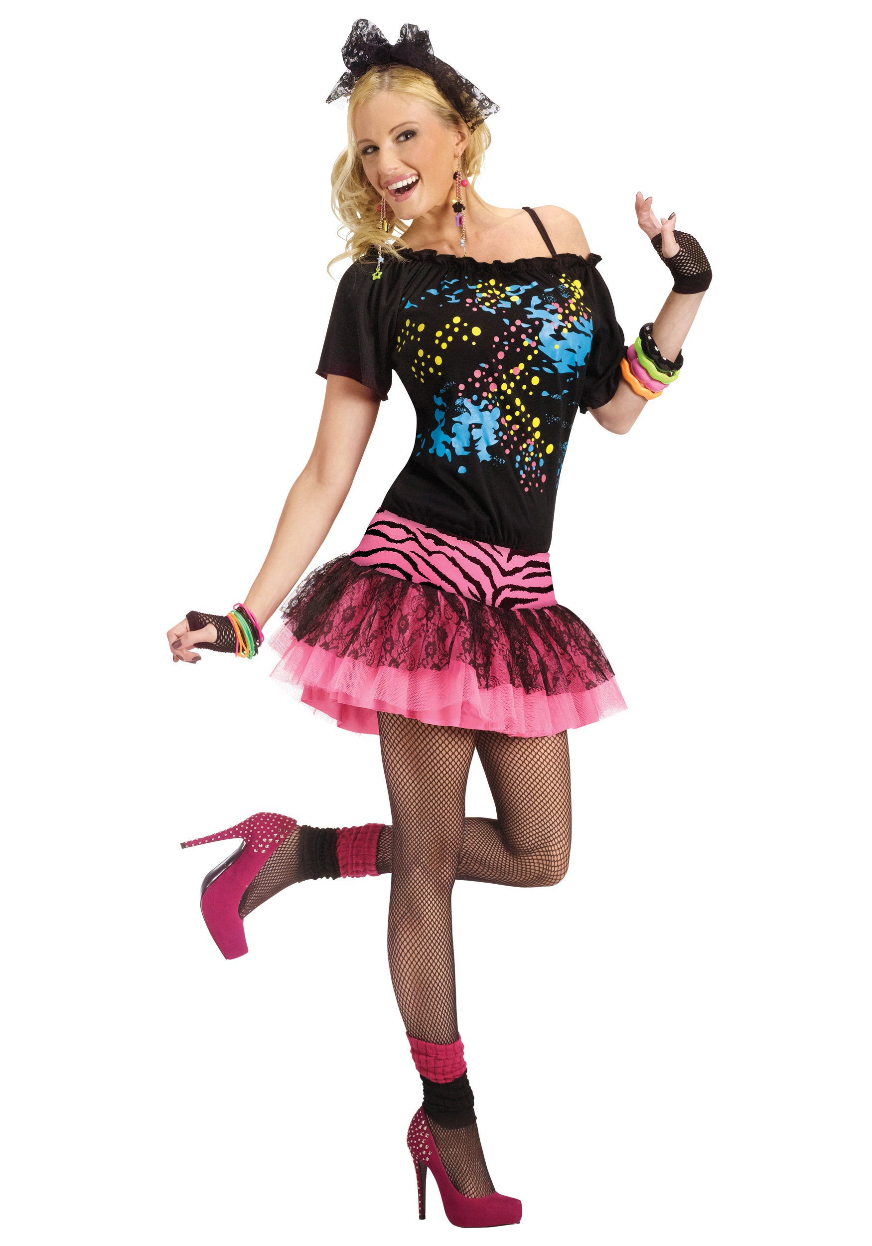 Adult 80s Pop Party Costume