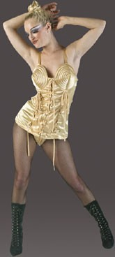 Adult 80's Pop Star Corset Costume