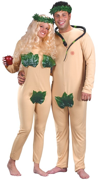 Adult Adam & Eve Costume