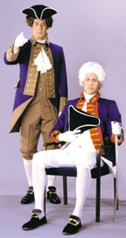 Adult American Revolution Officer Costume