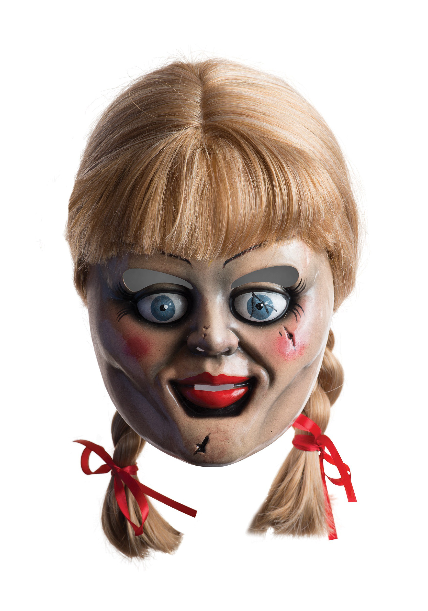 Adult Annabelle Mask w/Wig