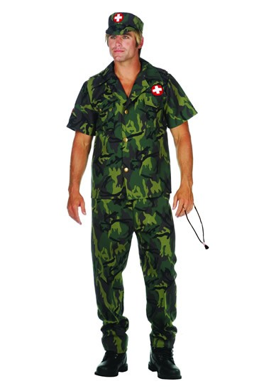 Adult Army Doctor Costume