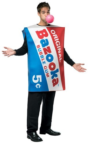 Adult Bazooka Gum Costume