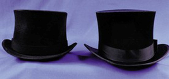 Adult Black Prince Charles Top Hat