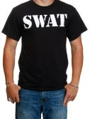 Adult Black SWAT T-Shirt