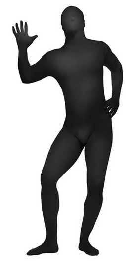 Adult Black Skin Suit