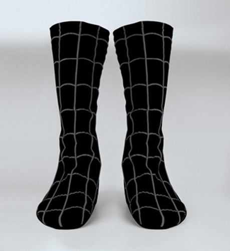 Adult Black Spiderman Boot Covers