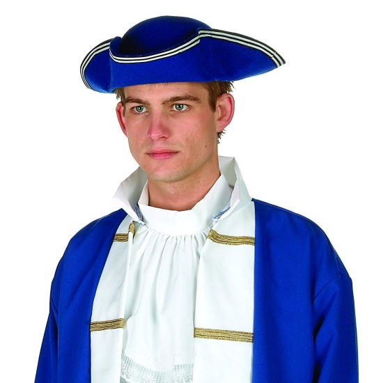 Adult Blue Colonial Hat