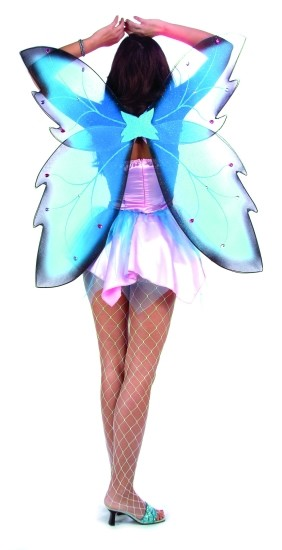 Adult Blue Fairy Wings