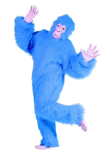 Adult Blue Gorilla Costume