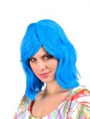 Adult Blue Peggy Sue Wig
