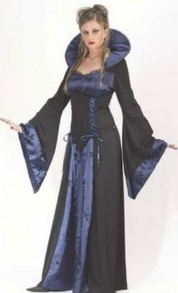 Adult Blue Vampire Costume