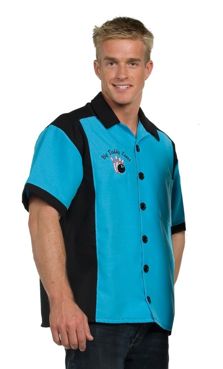 Adult Bowling Costume - Turquoise