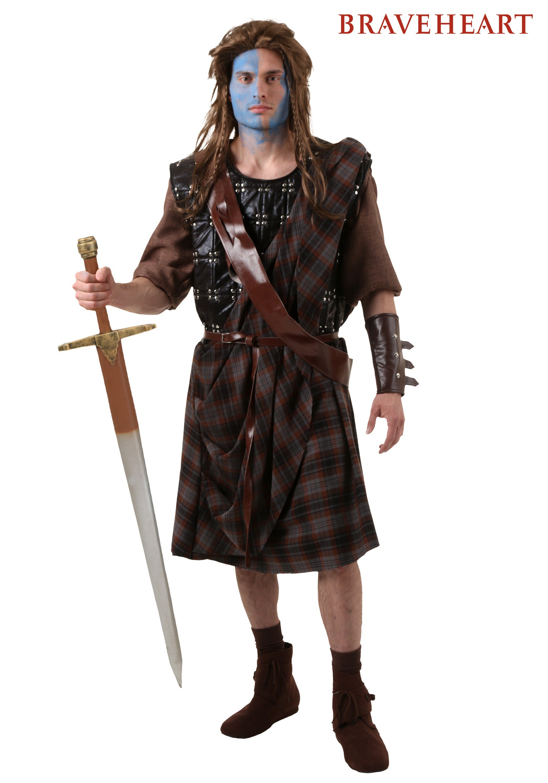 Adult Braveheart William Wallace Costume