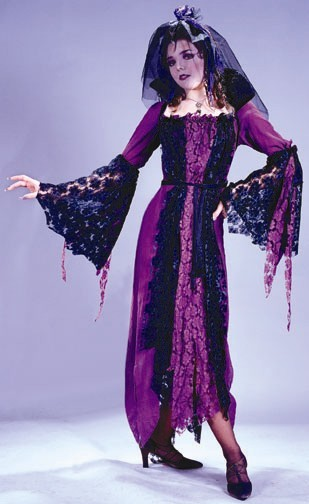 Adult Bride of Dracula Costume