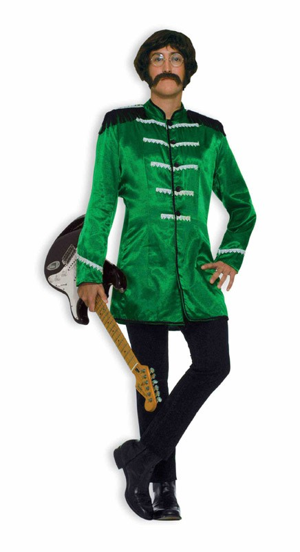 Adult British Explosion Costume - Green