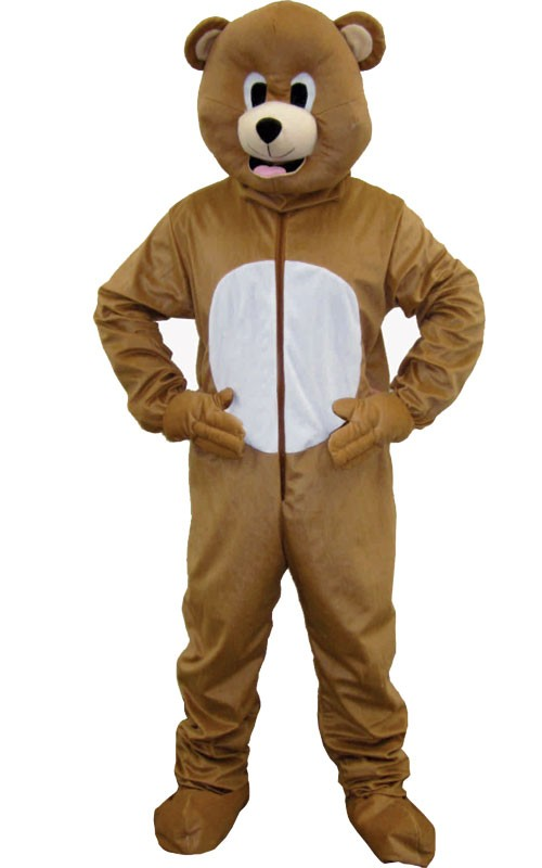Adult Brown Bear Mascot