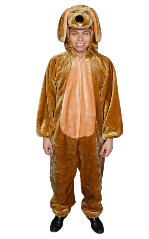 Adult Brown Dog Costume