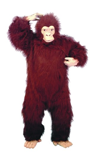 Adult Brown Gorilla Costume