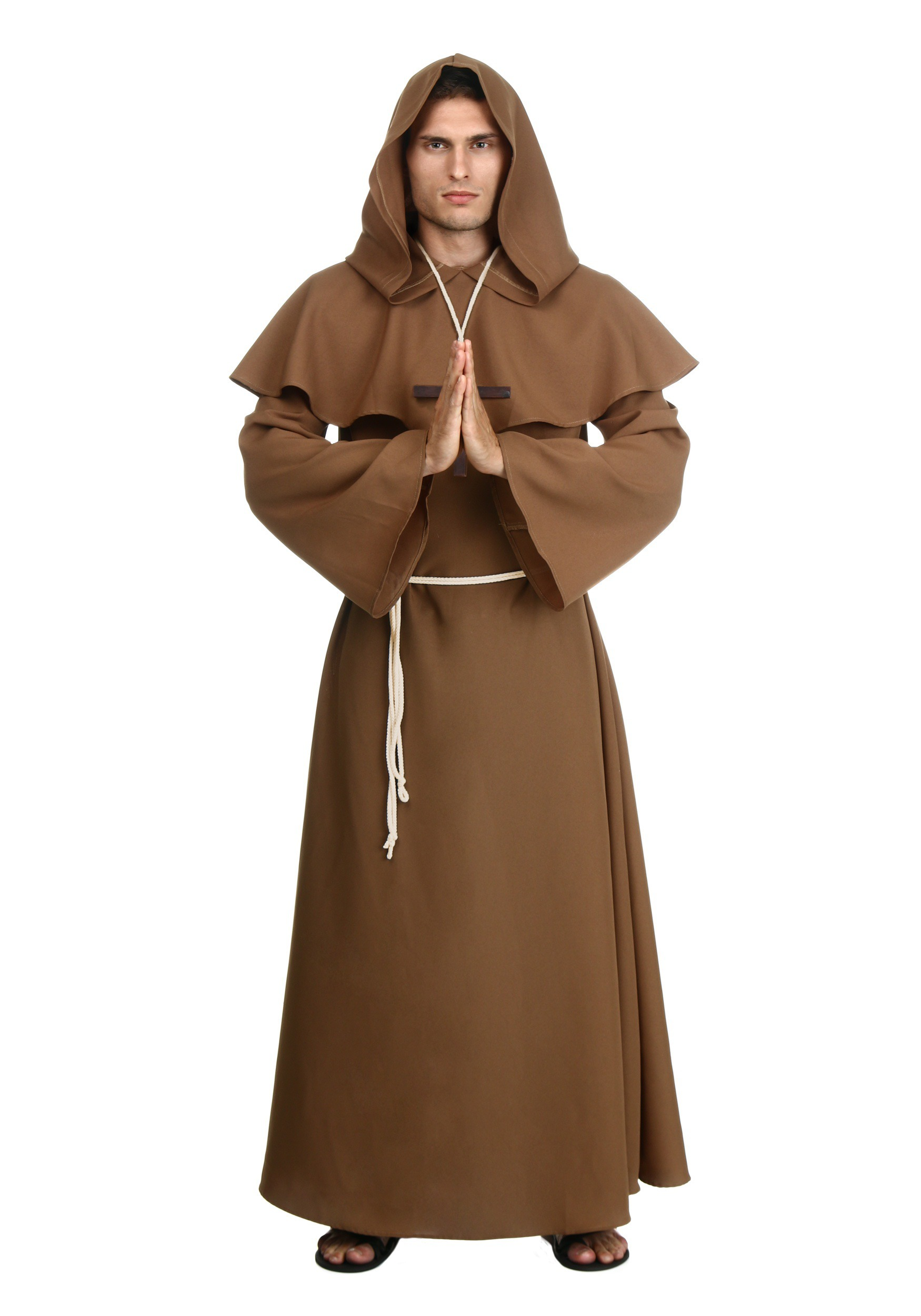 Adult Brown Monk Robe