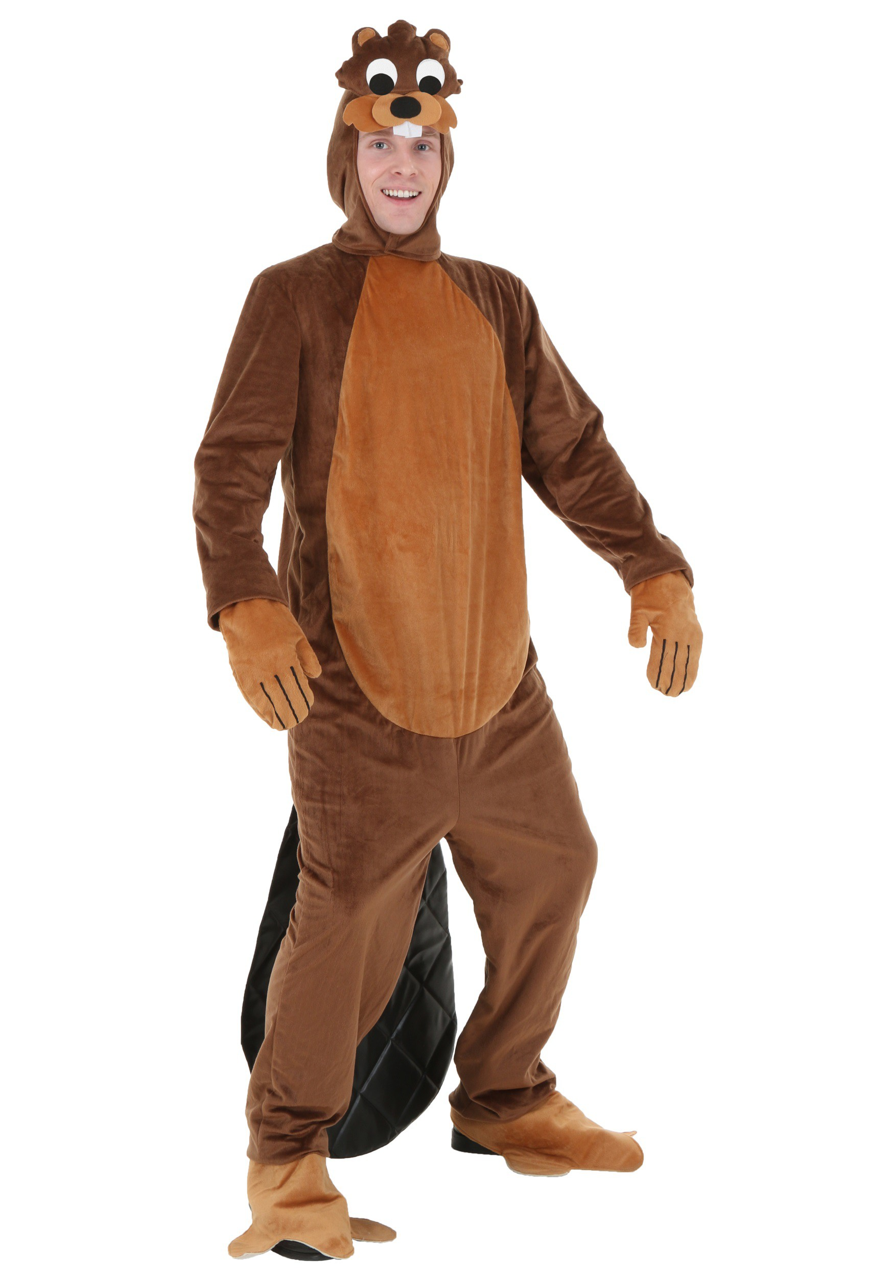 Adult Busy Beaver Costume