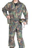 Adult Camouflage Soldier Costume