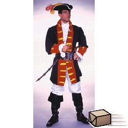 Adult Captain Hook/Prince Costume