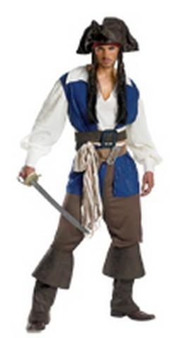 Adult Captain Jack Sparrow Costume