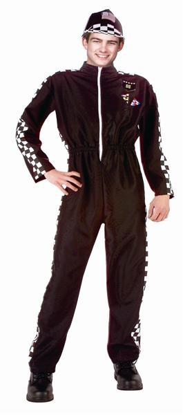 Adult Car Racer Costume - Black