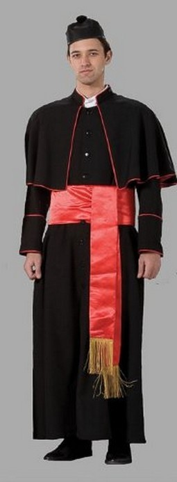 Adult Cardinal Costume ? Black