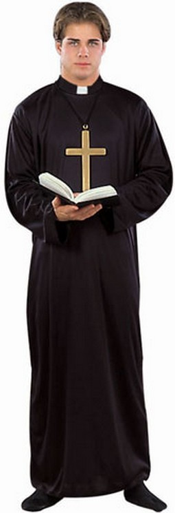 Adult Catholic Priest Costume