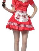 Adult Coca Cola Waitress Costume