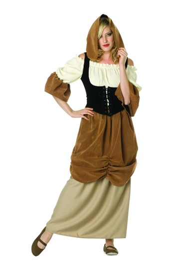 Adult Colonial Peasant Costume