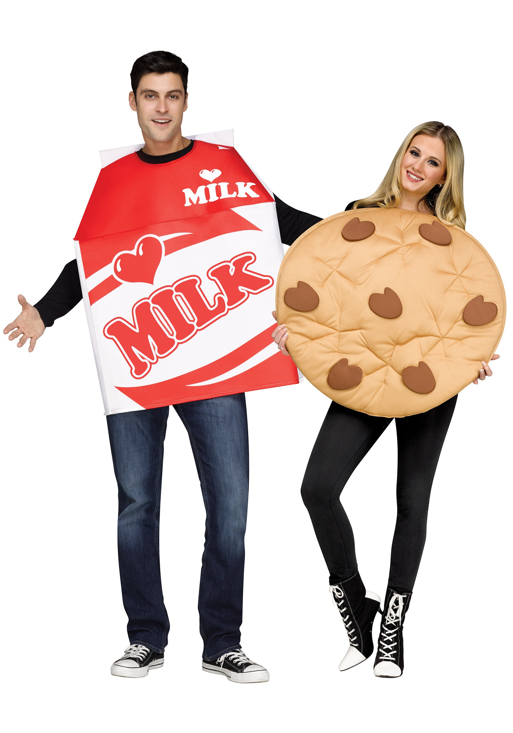 Adult Cookies and Milk Costume
