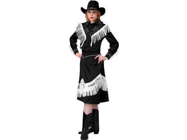 Adult Cowgirl Costume Black