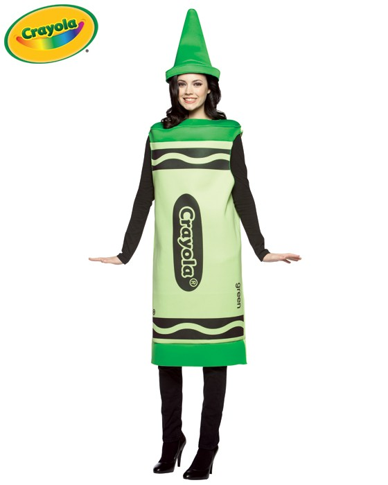 Adult Crayola Crayon Costume - Green