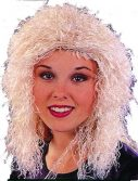 Adult Curly Blond Wig