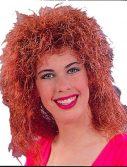 Adult Curly Red Wig