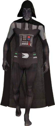 Adult Darth Vader Body Suit