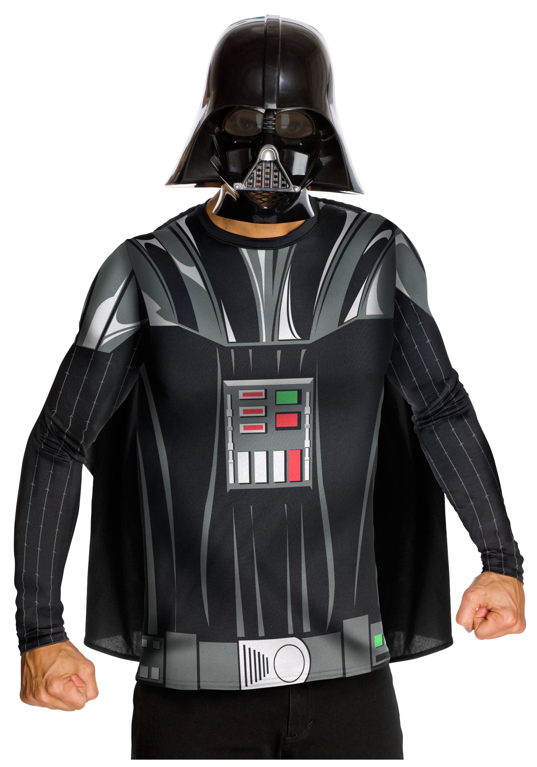 Adult Darth Vader Top and Mask