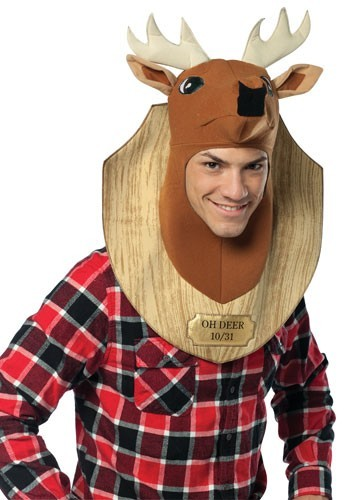 Adult Deer Trophy Head Costume