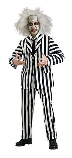 Adult Deluxe Beetlejuice Costume