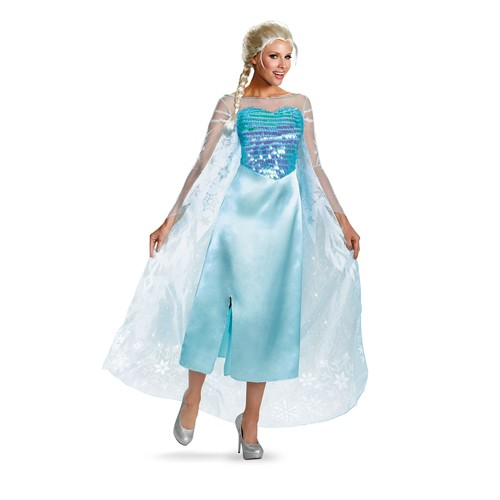 Adult Deluxe Frozen Elsa Costume