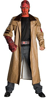 Adult Deluxe Hellboy Costume